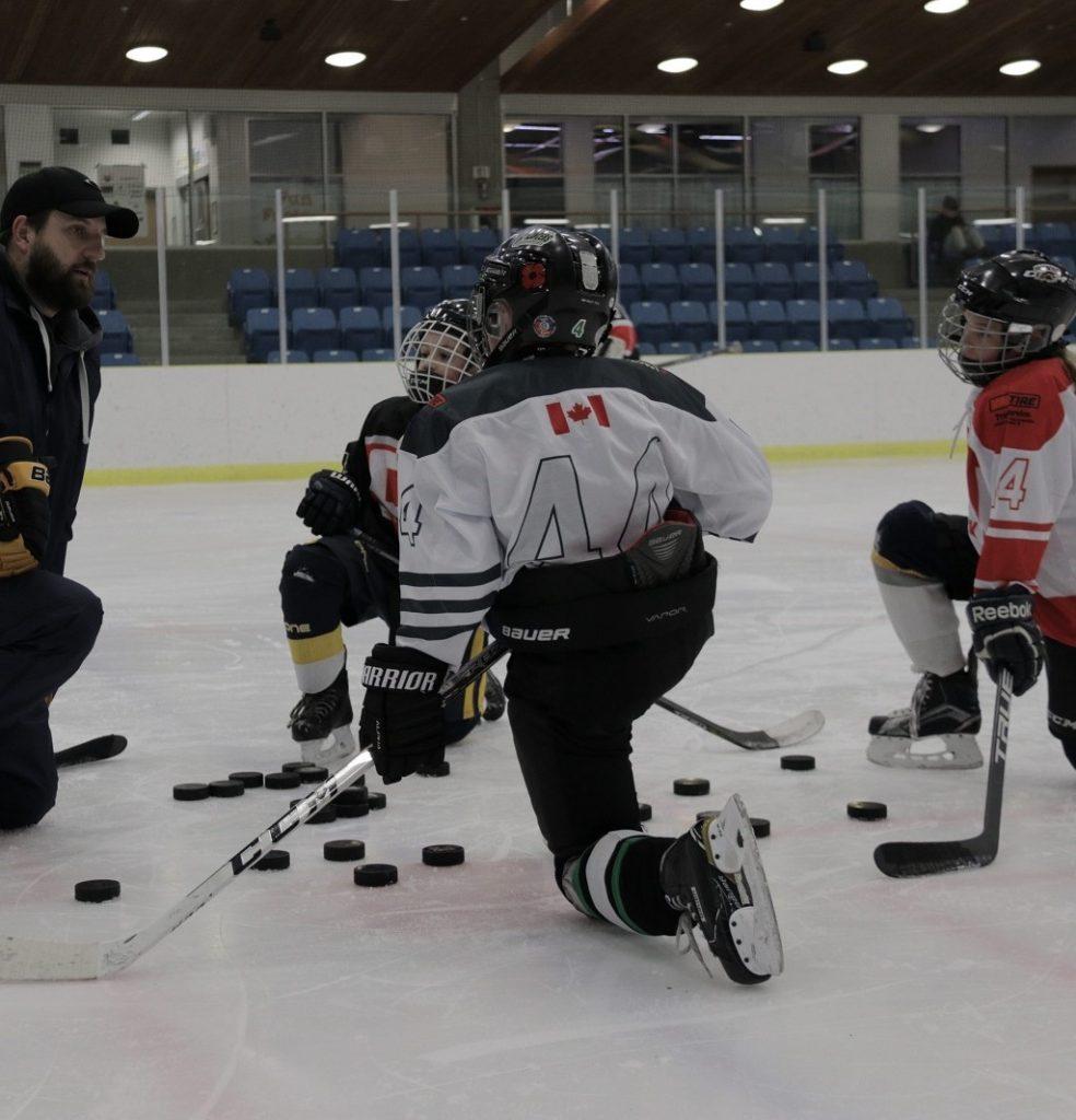 Small Group Hockey Instruction